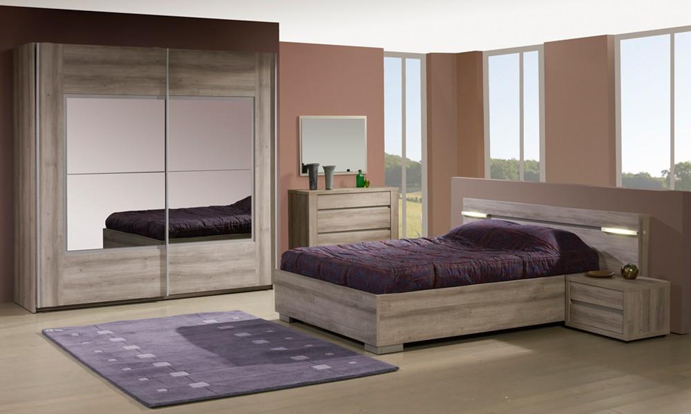 Chambre Adulte Complète (160*200) - VITA - L 160 x l 200