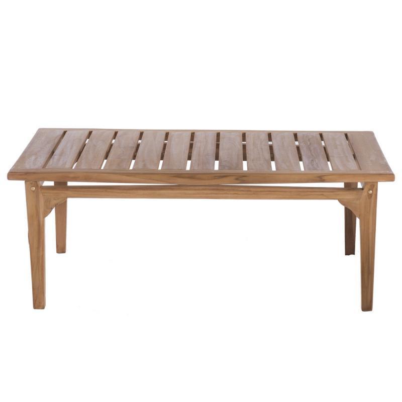 Table basse d'extérieur en Bois de teck - HALAVELI