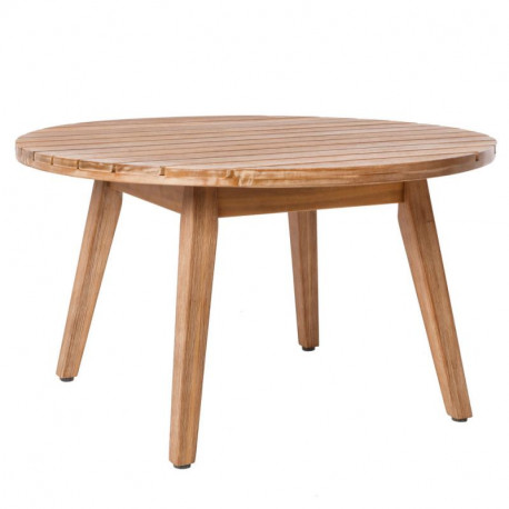 table basse d 39 ext rieur en bois huraa univers du jardin. Black Bedroom Furniture Sets. Home Design Ideas