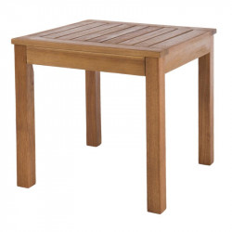 Table d'appoint extérieur Bois d'acacia massif - Univers Jardin : Tousmesmesubles