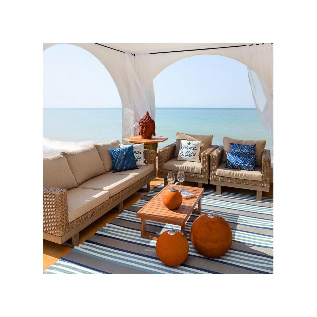 table basse d 39 ext rieur bois d 39 acacia rinca univers du. Black Bedroom Furniture Sets. Home Design Ideas