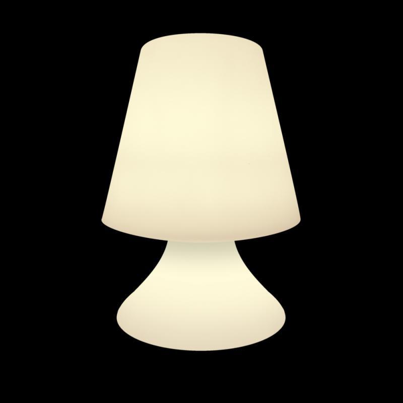 Lampe LED's extérieur Résine blanc N°1 - INU