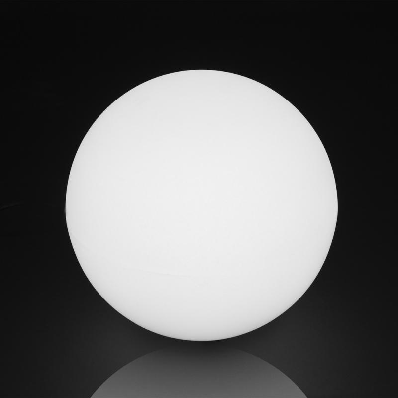 Lampe boule Résine blanche taille S - BASENJI