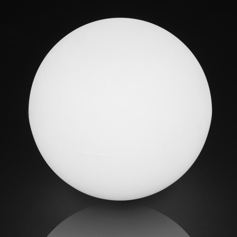 Lampe boule Résine blanche taille M - BASENJI