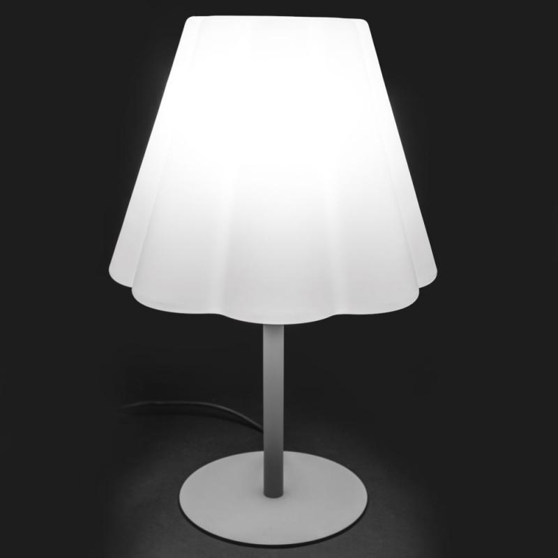 Lampe de table Résine blanche N°1 - CAUCASE
