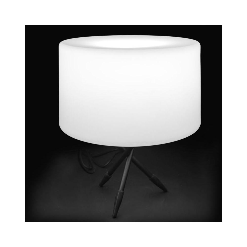 Lampe de table Résine blanche N°2 - CAUCASE