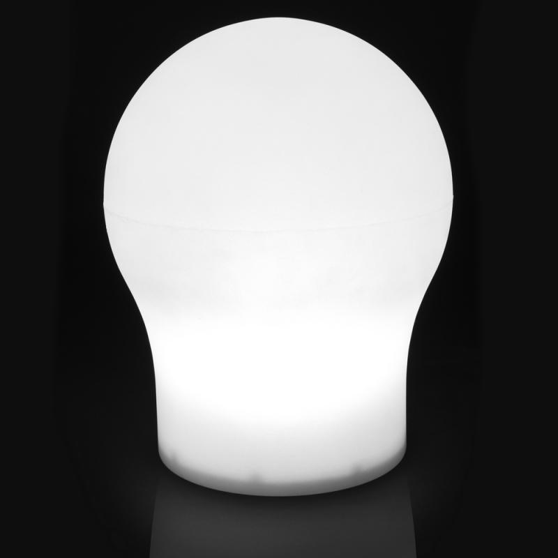 Lampe de table Résine blanche N°4 - CAUCASE