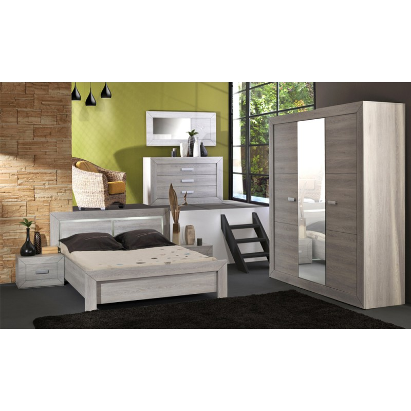 Chambre compl te adulte 140 190 univers chambre for Chambre adult complet