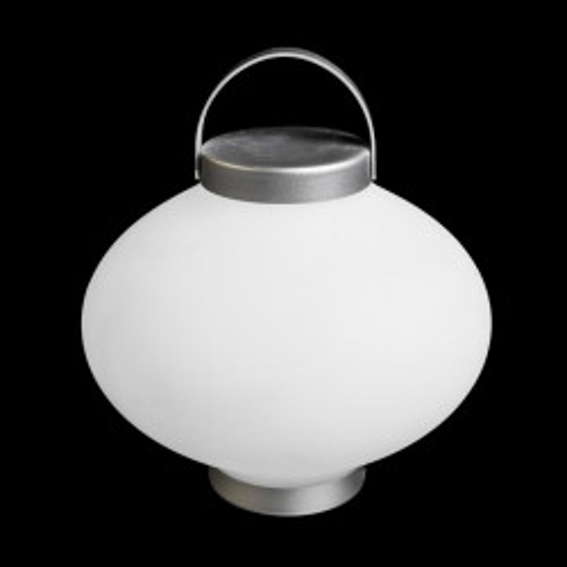Lampe Polymère/Aluminium blanc N°2 - HARRIER