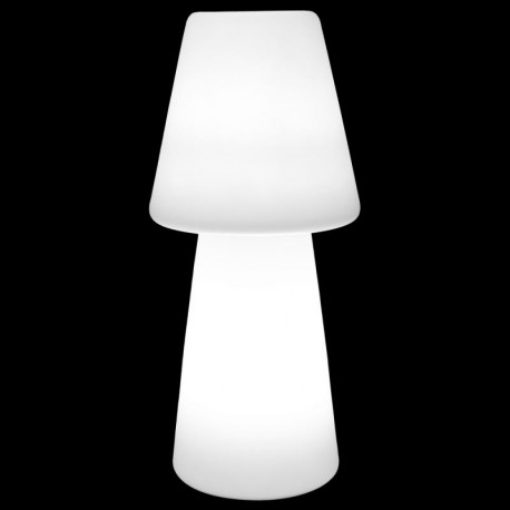 Lampadaire Polymère blanche taille S - CATALAN