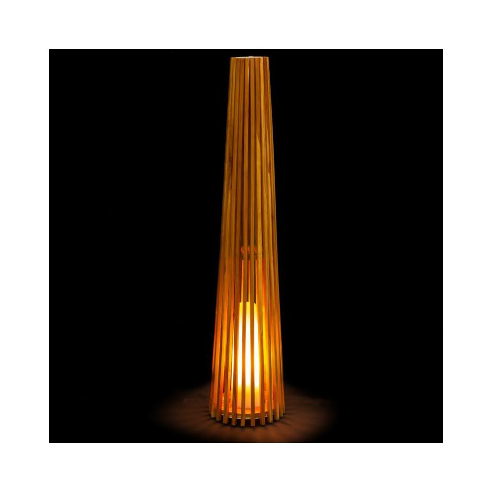 Lampe à poser Bois naturel taille L - SPANIEL