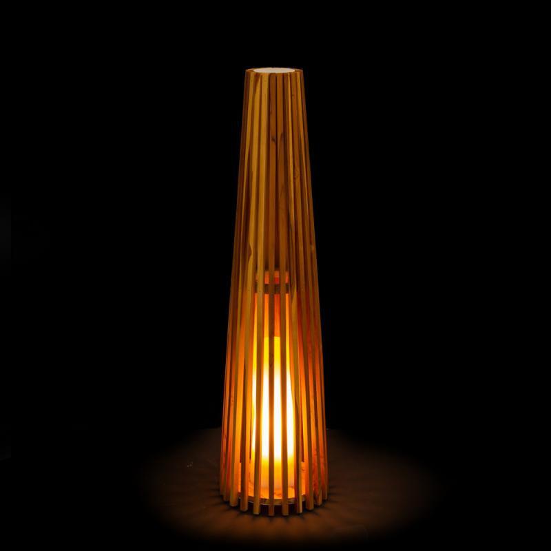 Lampe à poser Bois naturel taille M - SPANIEL