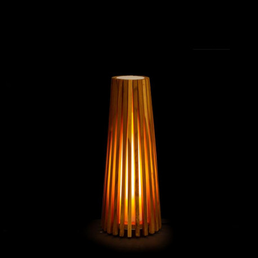 Lampe à poser Bois naturel taille S - SPANIEL