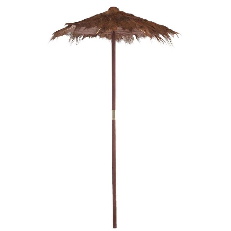 Parasol Fibres marron taille S - COSTARICA