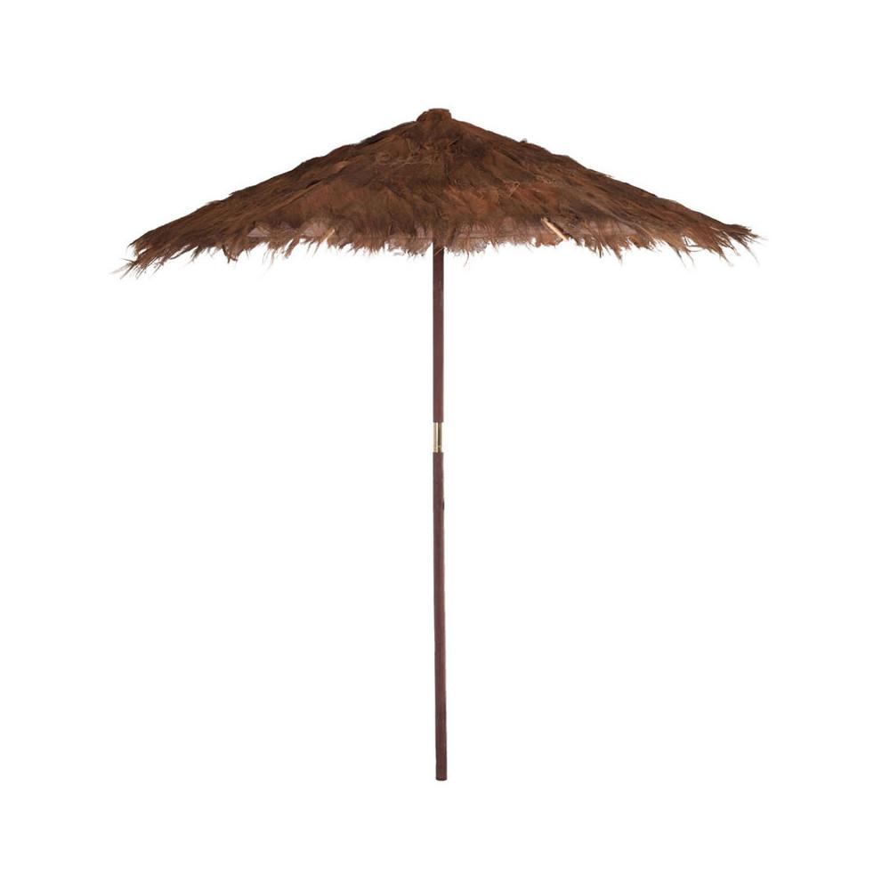 Parasol Fibres marron taille M - COSTARICA