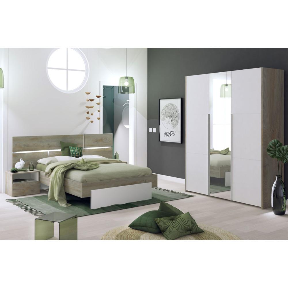 Chambre Adulte Complète (160*200) - FLORINE n°1