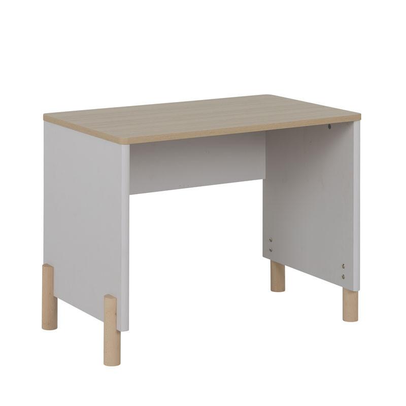 Bureau Bois/Gris clair - TRESOR
