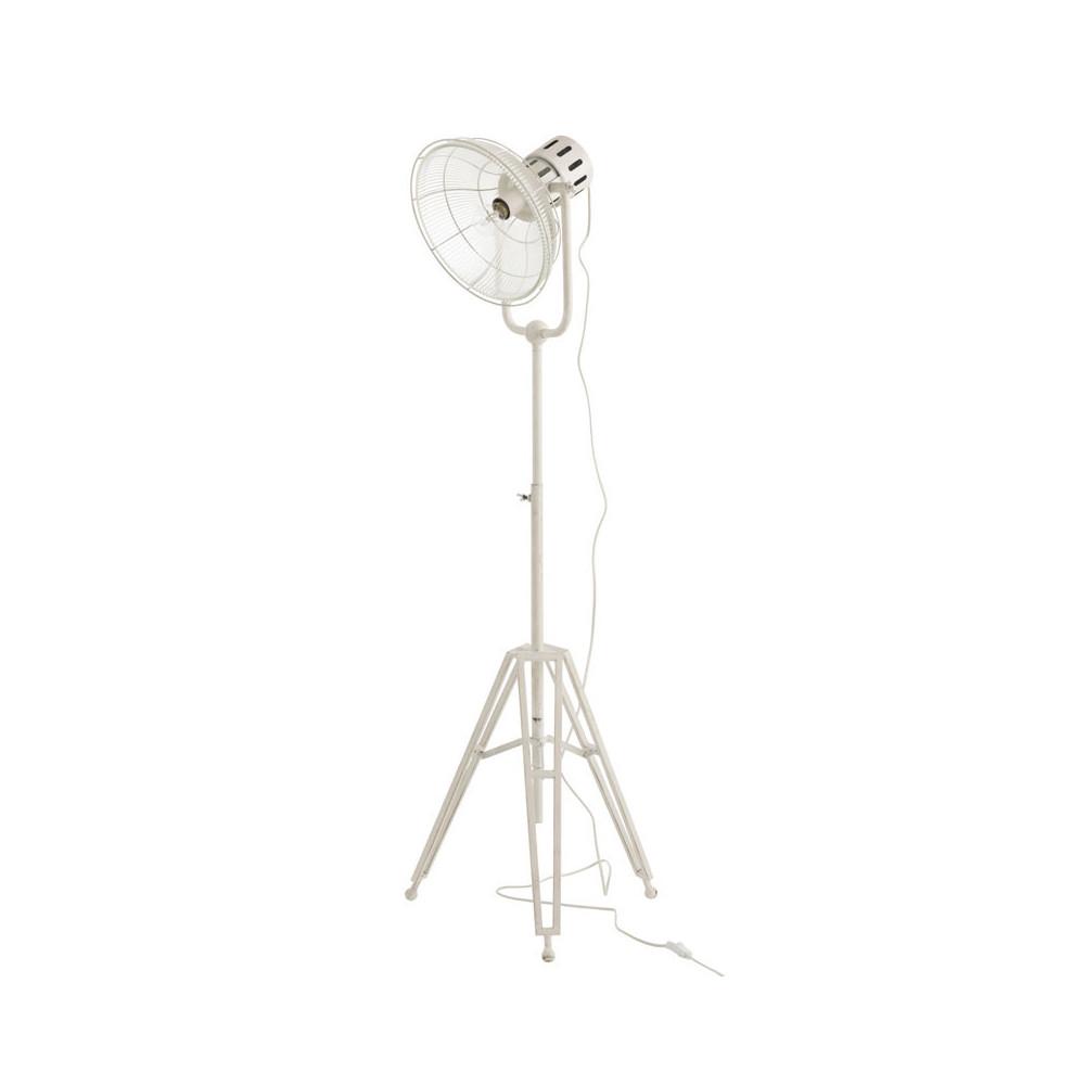 Lampadaire projecteur Métal blanc - VERITATE