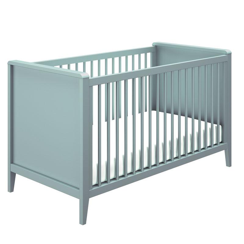 Lit bébé évolutif Bleu - NOURS