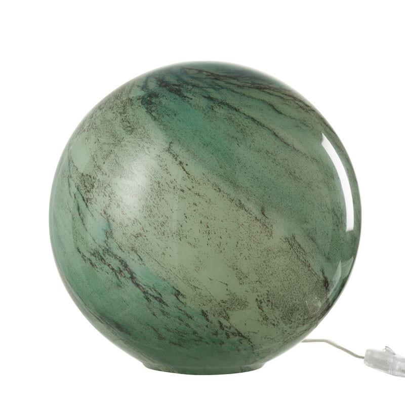 Lampe de bureau Verre vert taille M - KYANITE