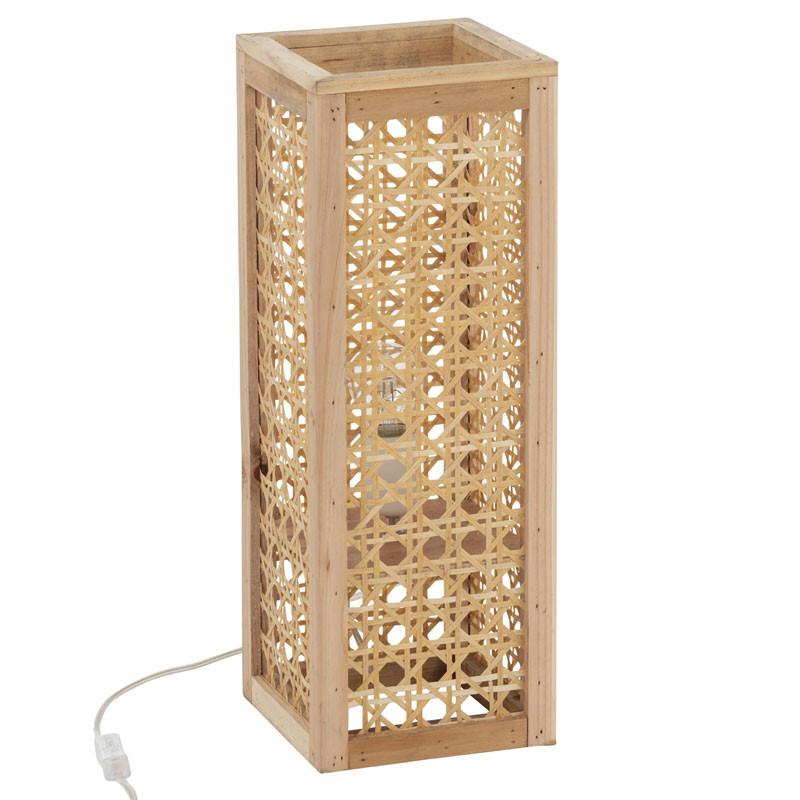 Lampe de bureau Bambou naturel taille S - RORQUAL