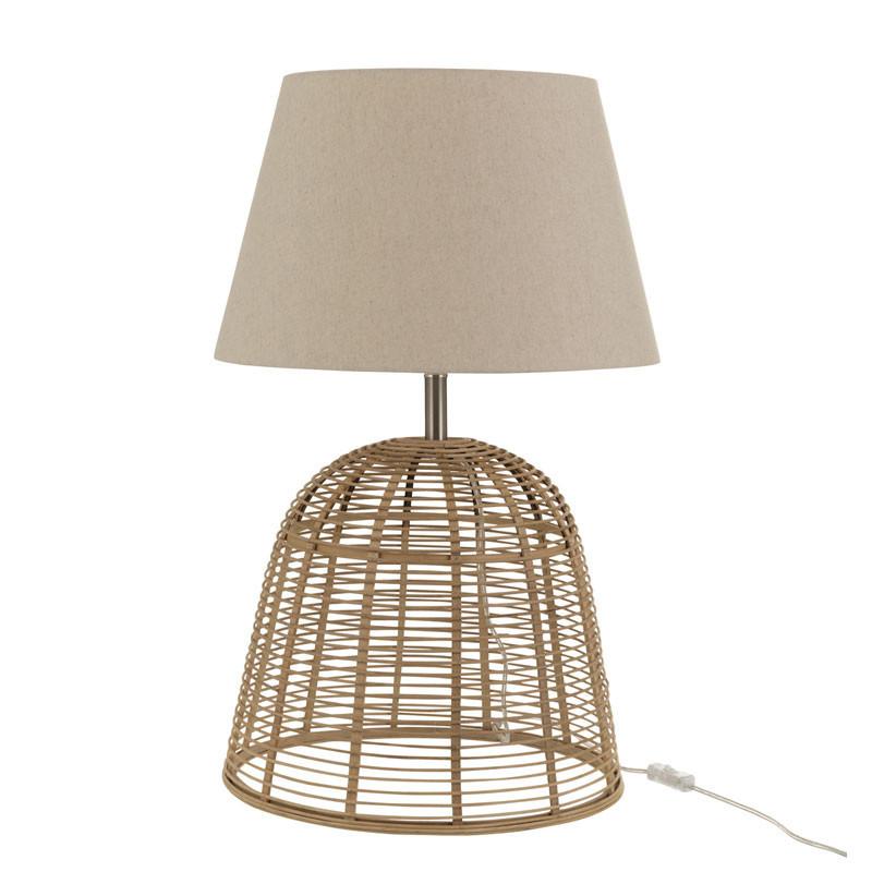 Lampe de bureau Bambou naturel taille S - VAQUITA