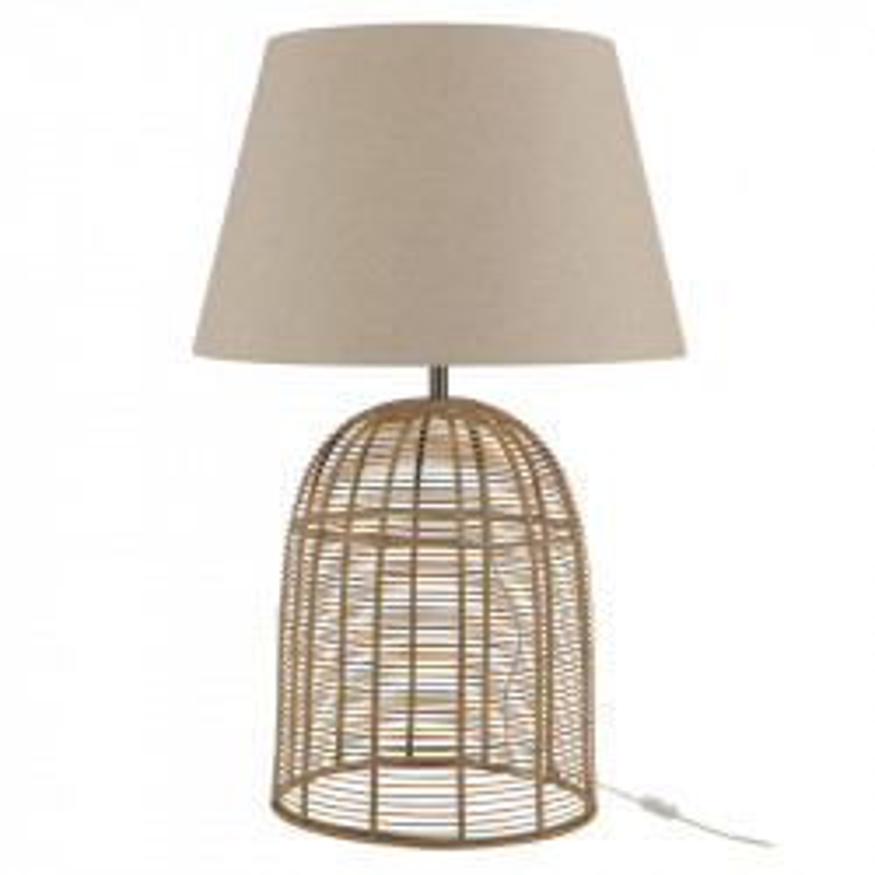 Lampe de bureau Bambou naturel taille M - VAQUITA