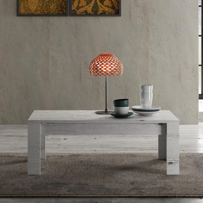 Table basse Chêne blanchi bois contemporain - Univers Salon : Tousmesmeubles