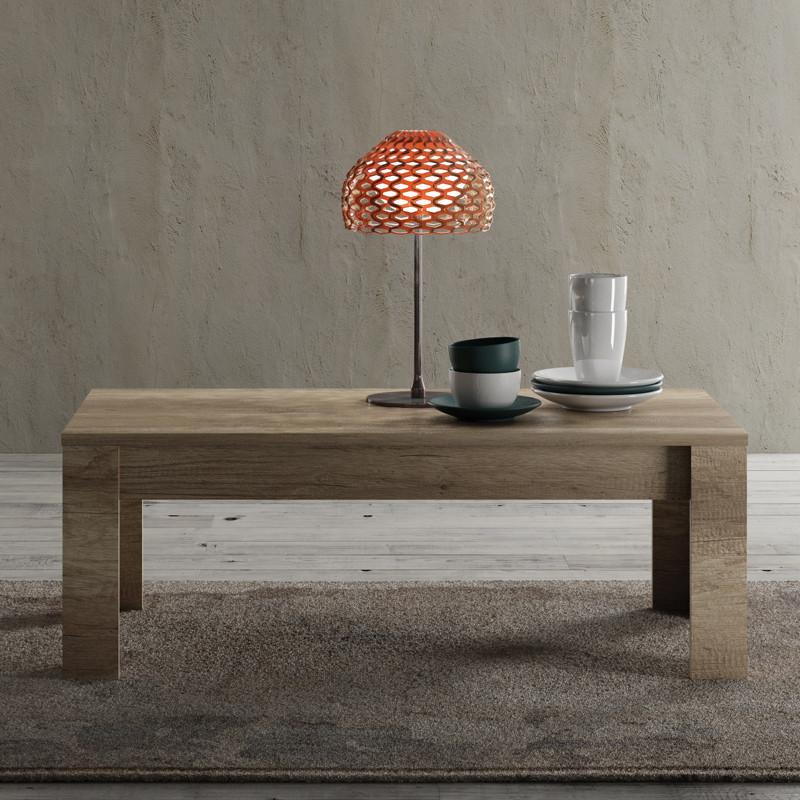 Table basse Chêne moyen moderne bois - Univers Salon : Tousmesmeubles