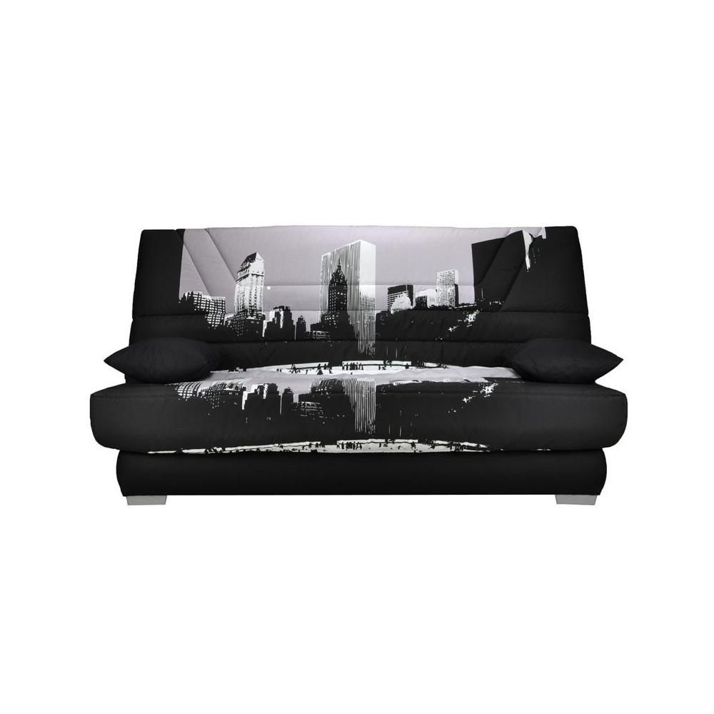 Banquette-lit clic-clac matelas Bultex 130 cm - SPEED BRIA n°4
