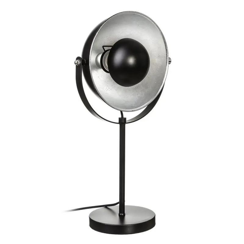 Lampe de bureau Métal noir/argent - AKALTEKE