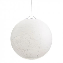Suspension Acrylique blanc taille M - BAGUIO