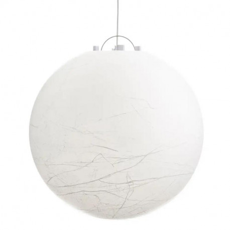 Suspension Acrylique blanc taille L - BAGUIO
