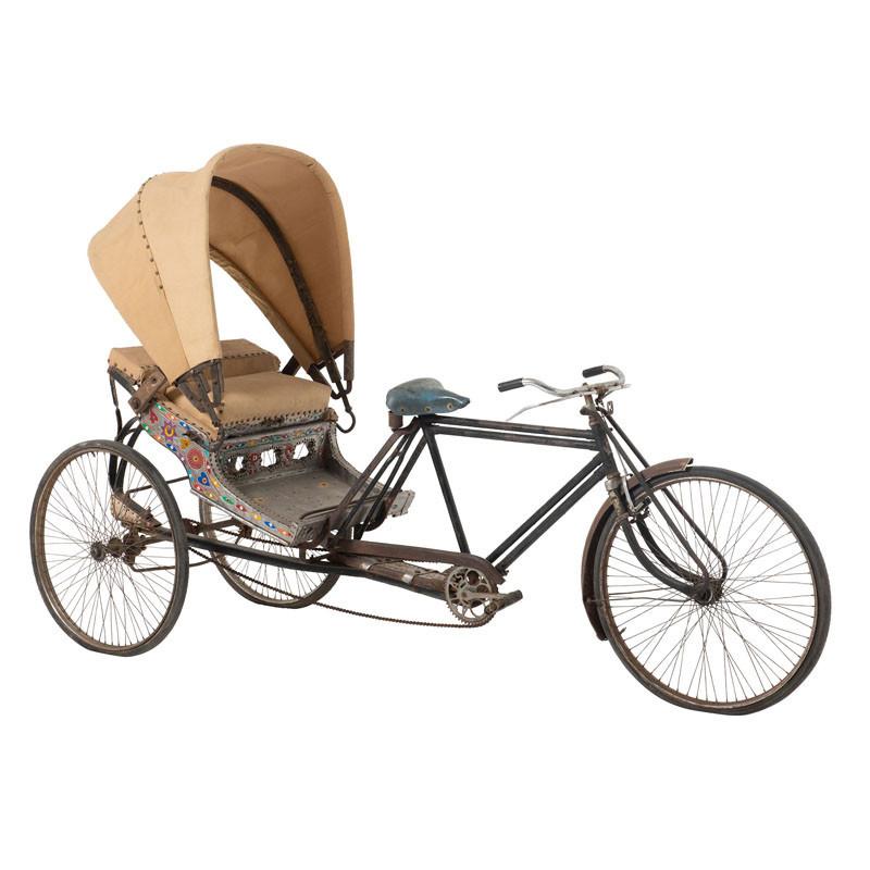 Pousse-pousse décoratif métal vélo - Univers Décoration : Tousmesmeubles