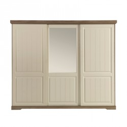 Armoire 3 portes coulissantes - TIVA