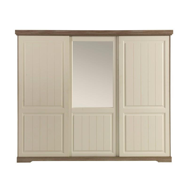 Armoire 3 portes coulissantes - TIVA