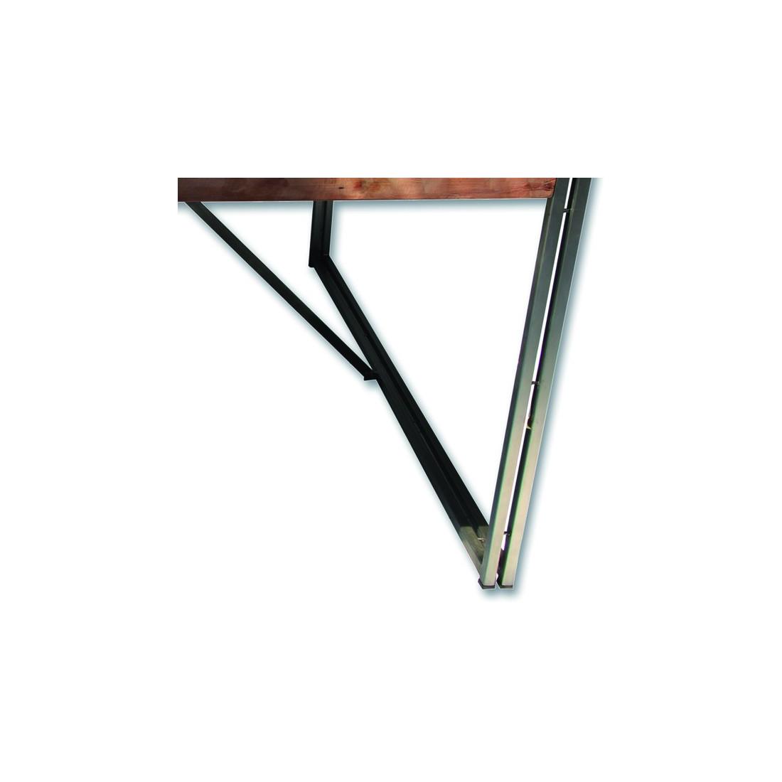 table de repas en bois carr e 140 cm univers salle. Black Bedroom Furniture Sets. Home Design Ideas