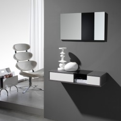 meubles d 39 entr e suspendre tousmesmeubles. Black Bedroom Furniture Sets. Home Design Ideas