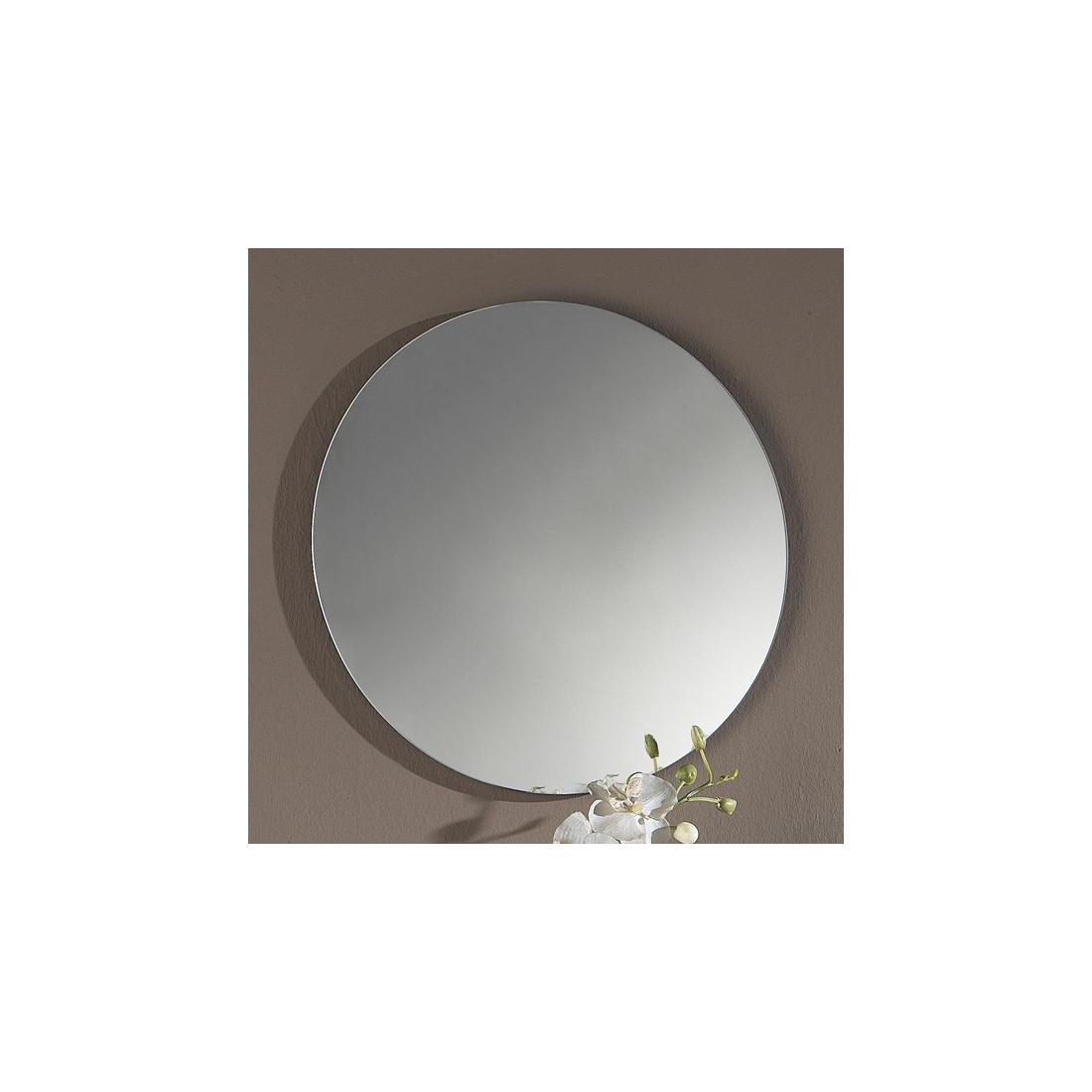 Meuble d 39 entr e cendre miroir tiga univers petits for Meuble d entree miroir