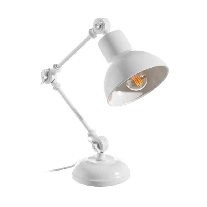 Lampe de bureau Métal blanc N°1 - GONDO
