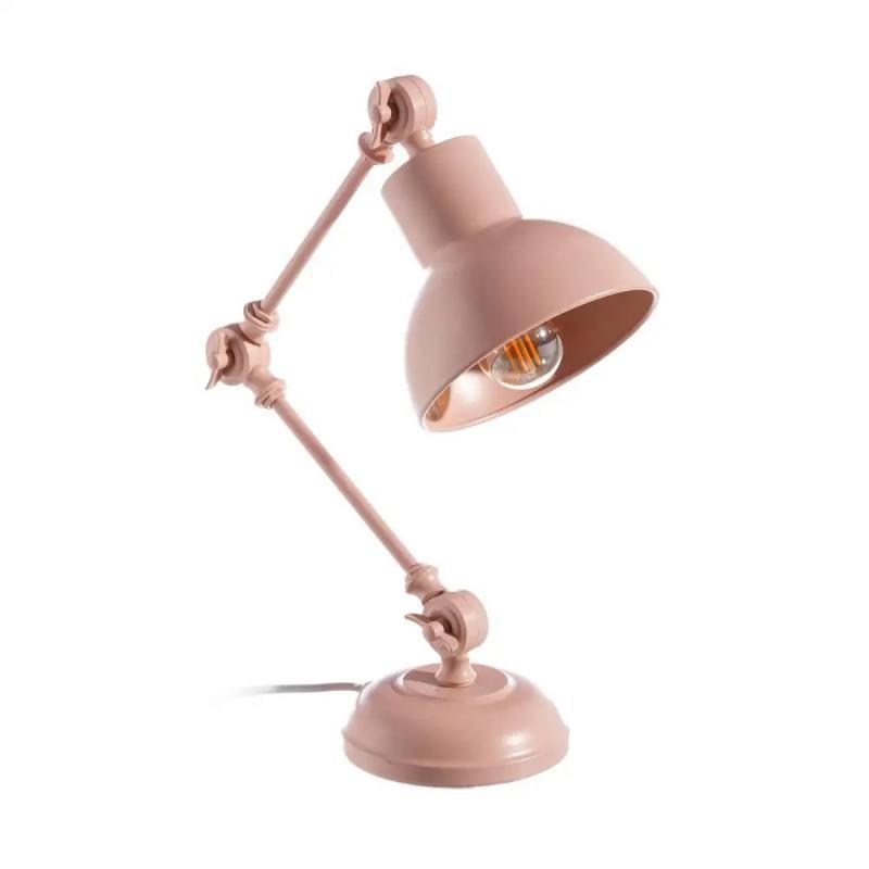 Lampe de bureau Métal rose clair N°1 - GONDO