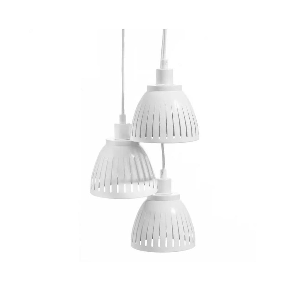 Suspension 3 ampoules Métal blanc  - GONDO