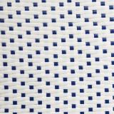 Duo de Tabourets Rotin Blanc/Bleu TANAR - Univers Salle à Manger et Assises : Tousmesmeubles