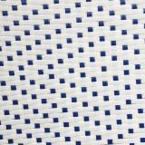 Duo de Tabourets de bar Rotin Blanc/Bleu TANAR - Univers Assises et Salon : Tousmesmeubles