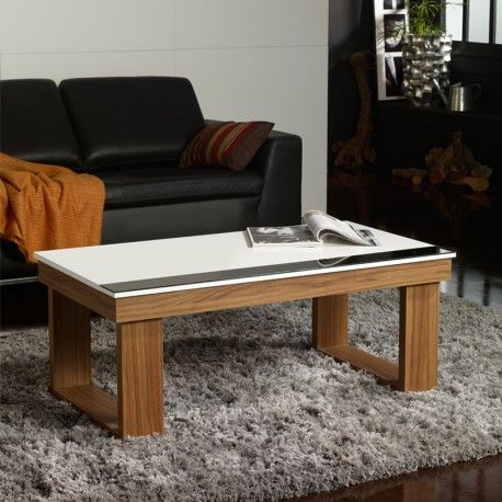 Table basse relevable Noyer - UPTO