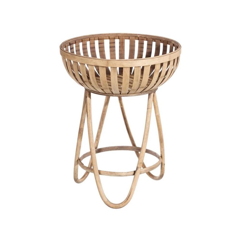 Table d'appoint Bambou naturel TANAR - Univers Petits Meubles et Salon : Tousmesmeubles