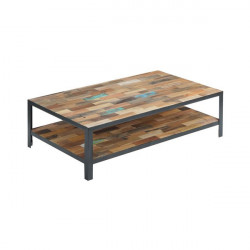 Table basse rectangulaire double plateau - FABRIK