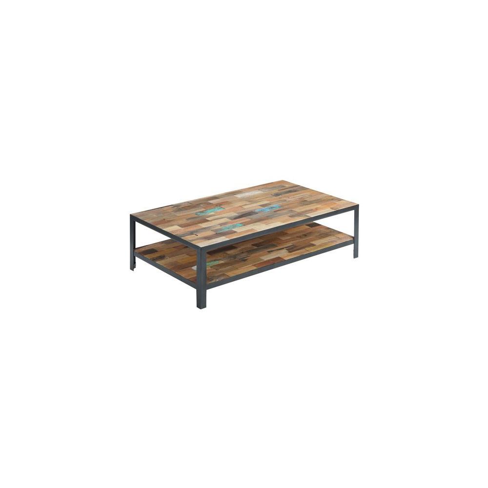 Table basse rectangulaire double plateau - FABRIK