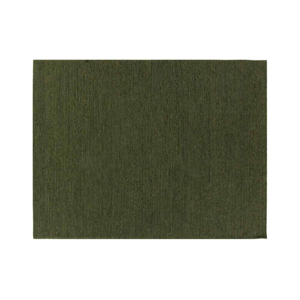 Tapis Tissu vert 240*340 - BISCAYE