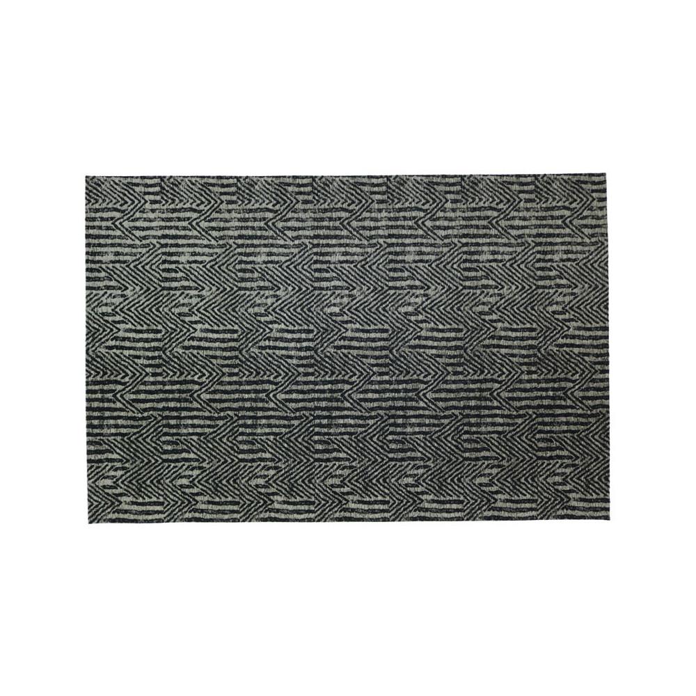 Tapis tissu anthracite 200*300 - NORSK